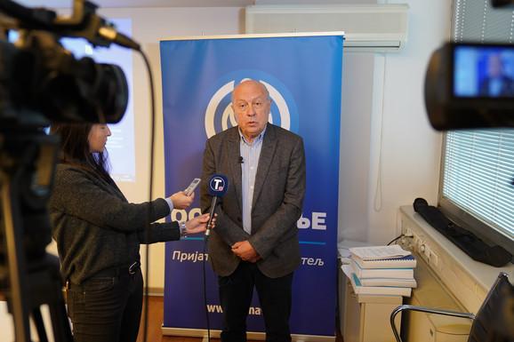 Dekan Ekonomskog fakulteta prof dr. Branislav Boričić