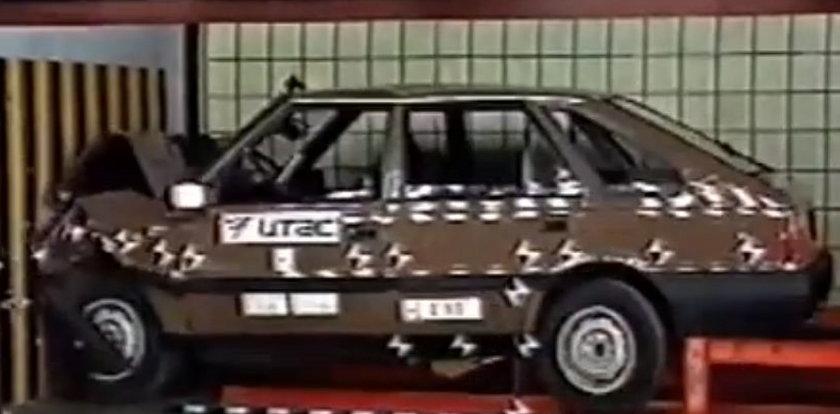 Polonez caro. Niesamowity test zderzeniowy z 1993 r.!