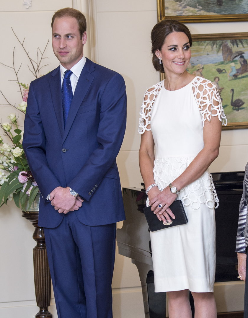 Książę William i księżna Kate w Australii