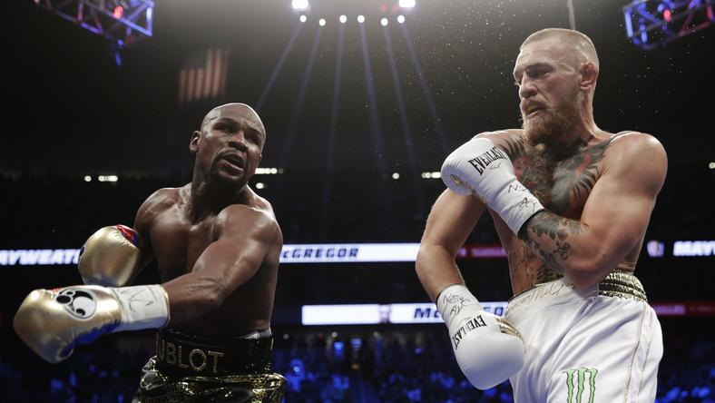 Mayweather defeats McGregor