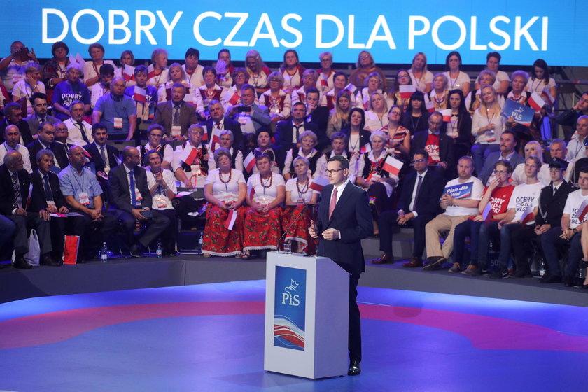 Na sobotniej konwencji PIS w Lublinie padło wiele obietnic