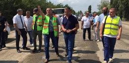 Jak Nowak na Ukrainie drogi budował