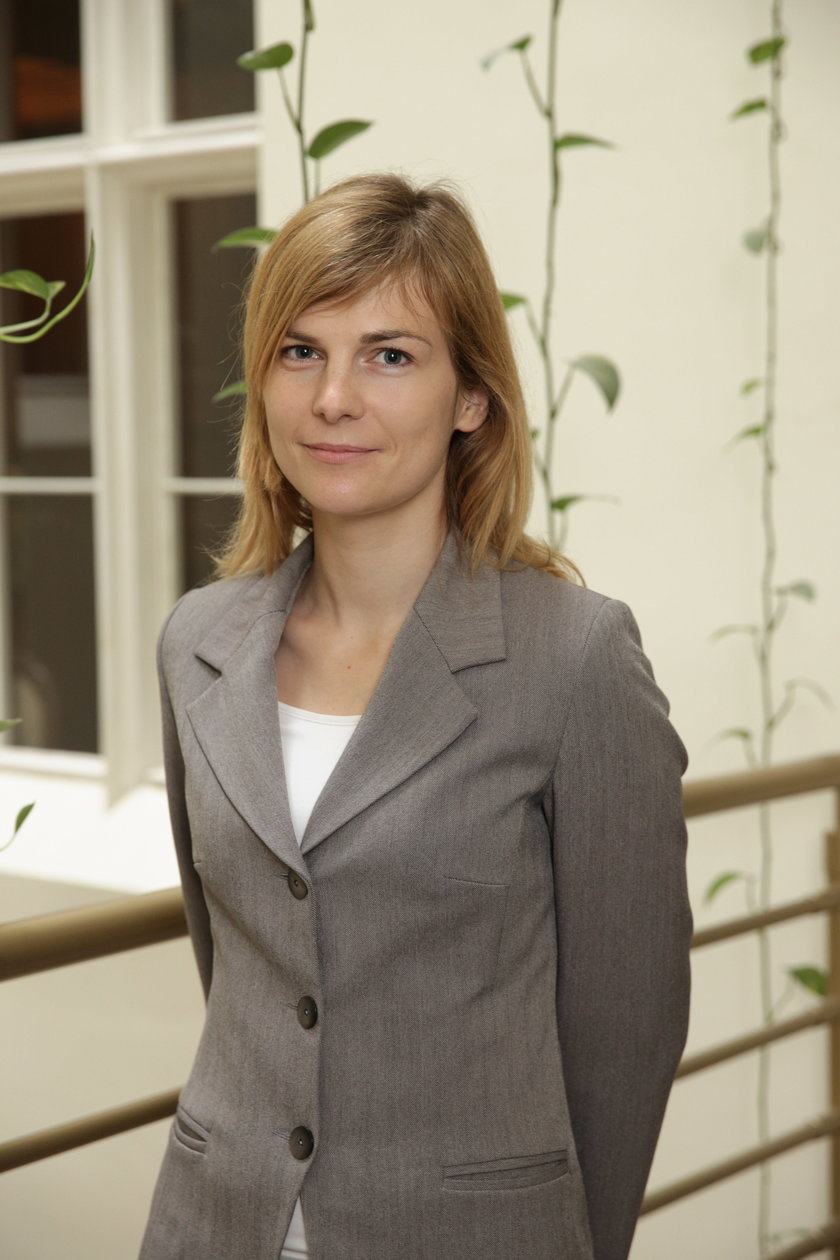 Anna Bytońska z magistratu