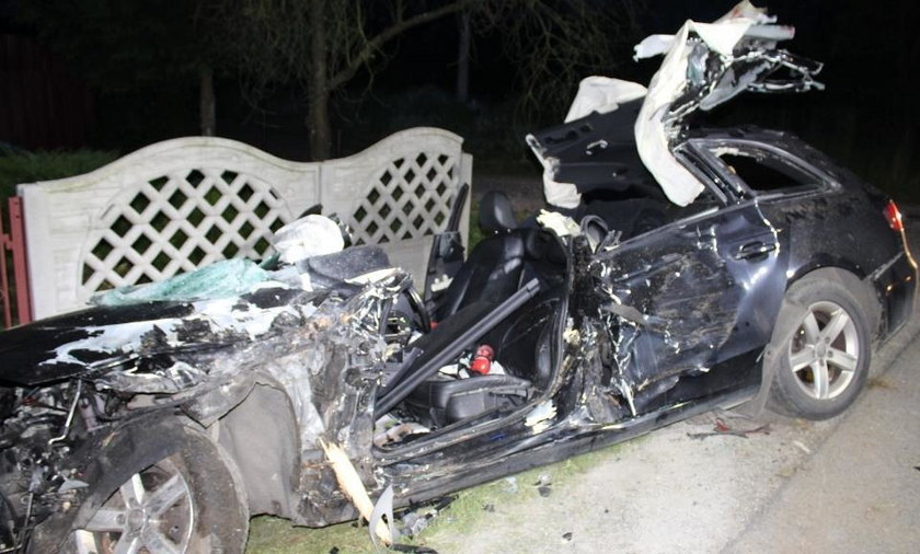 Wypadek w Korzeniowie