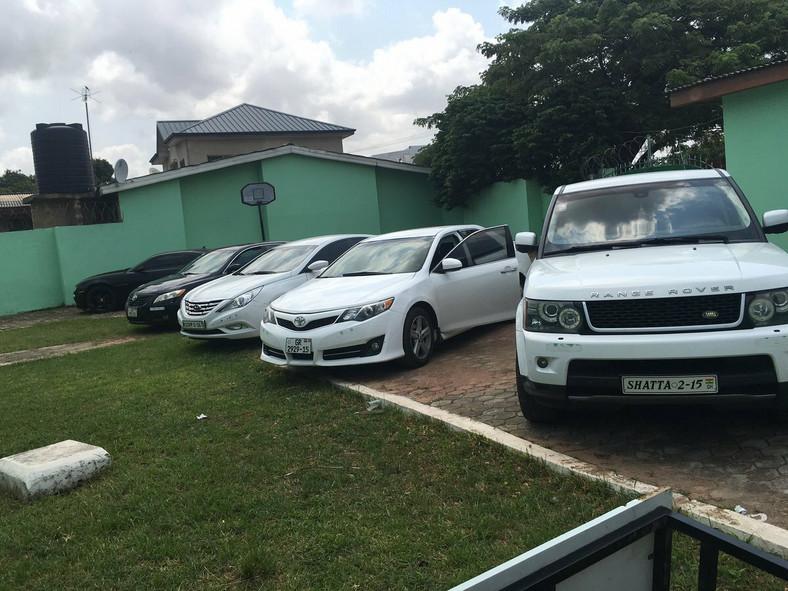 Shatta Wale's cars