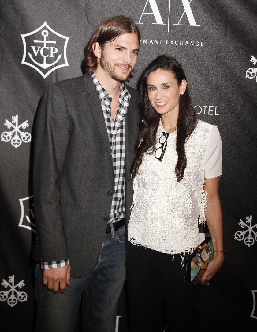 Ashton Kutcher i Demi Moore