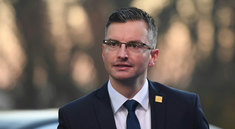Slovenia's prime minister resigns, calls for snap poll