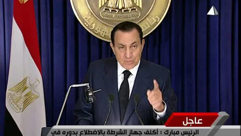 Mubarak złożył dymisję? To plotki