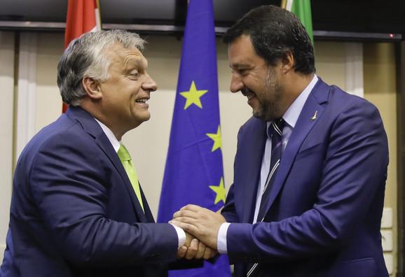 Viktor Orban i Mateo Salvini
