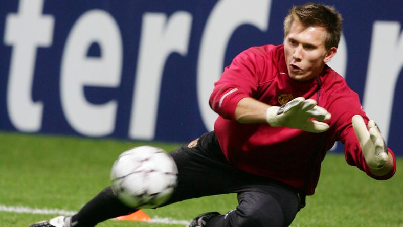 Tomasz Kuszczak nie popisał się w ostatnim meczu Manchesteru