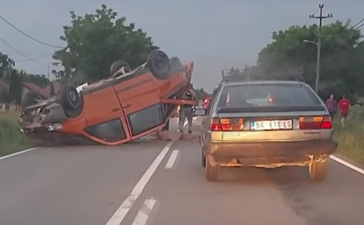 Obenovac, Piroman, saobraćajna nezgoda