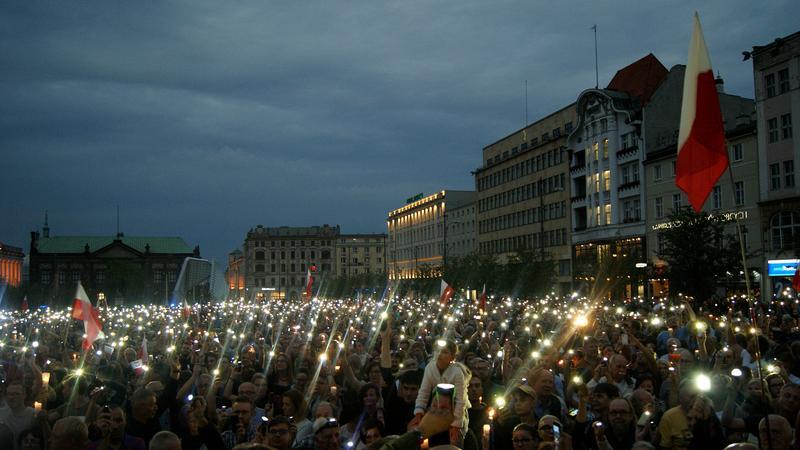 Łańcuch Światła w Poznaniu
