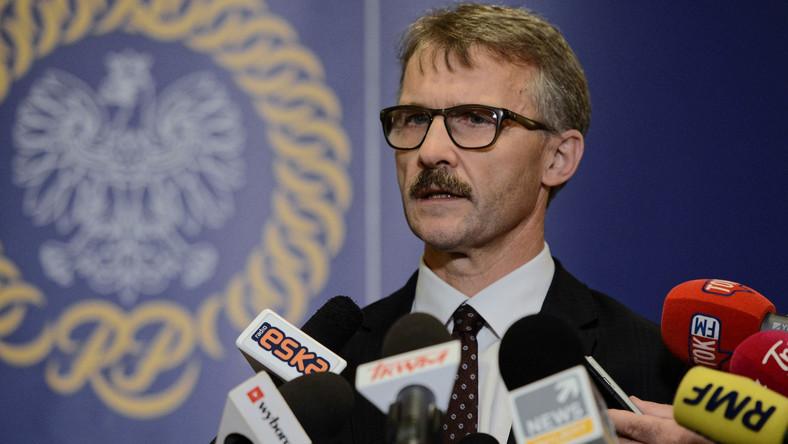 Przewodniczący KRS Leszek Mazur