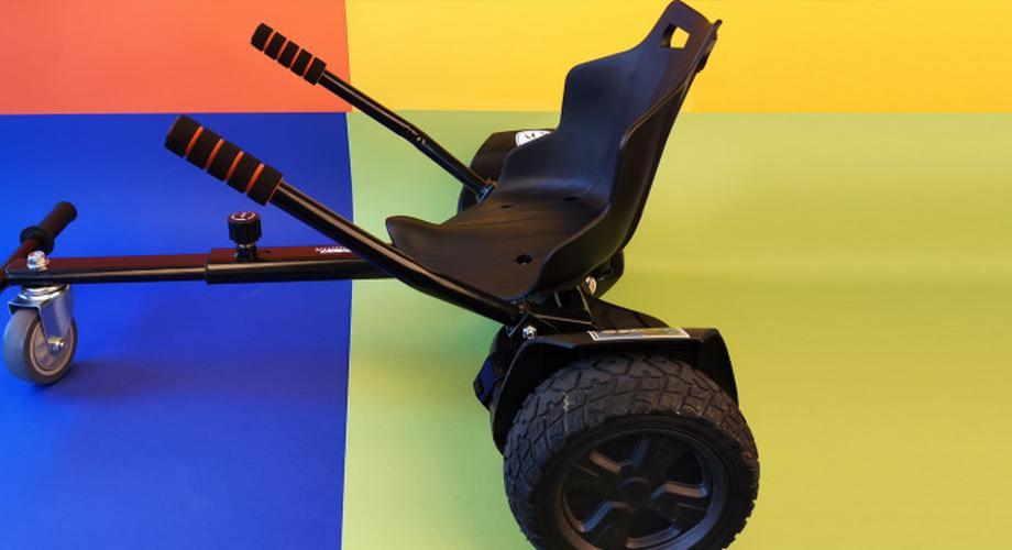 Sitze für Hoverboards: Elektro-Kart statt Balancing-Board