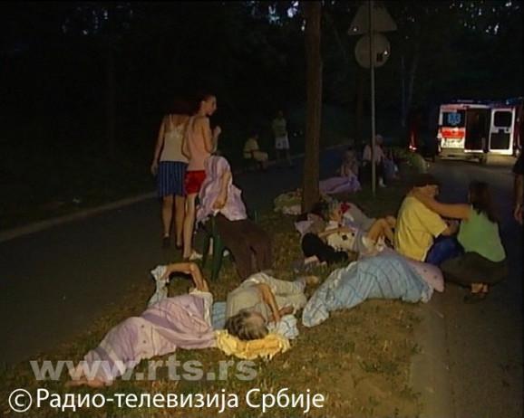 Korisnici Doma hitno su evakuisani Foto:RTS printskrin