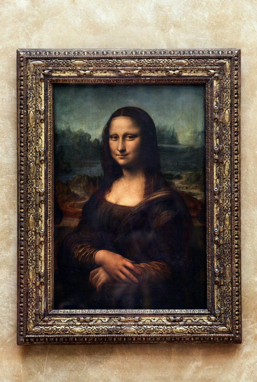 """Obraz """"Mona Lisa"""" autorstwa Leonarda da Vinci"""