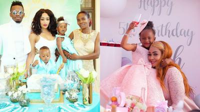 Umezidi, Subiri Urogwe- Zari tells Diamond's mother over sharing her daughter's photos