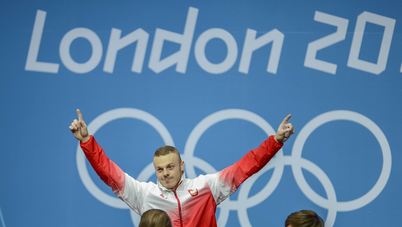 Adrian Zieliński zdobył złoty medal w Londynie
