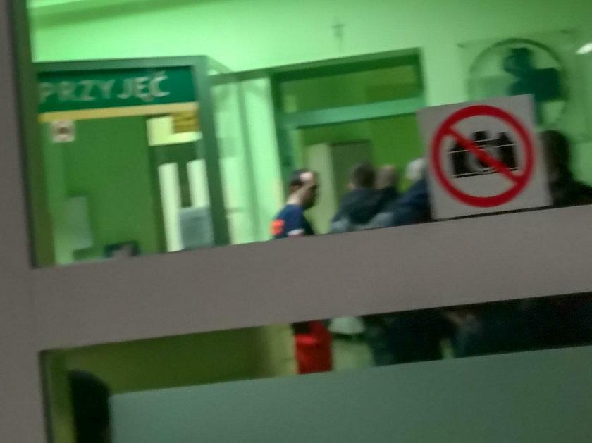 Szpital psychiatryczny.