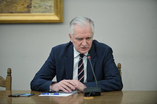 Przesłuchanie Jarosława Gowina