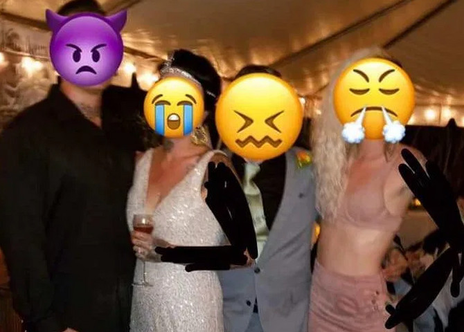 Ljudi kažu da ovakvu gošću ne bi pustili na venčanje