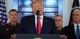 Reakcja Trumpa na atak rakietowy Iranu. Cofa się o krok?
