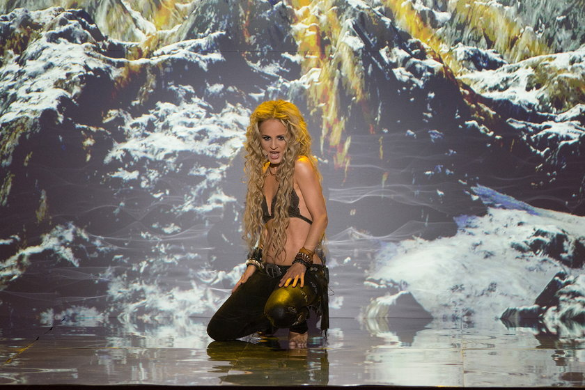 """Monika Dryl w """"Twoja twarz brzmi znajomo"""" jako Shakira"""
