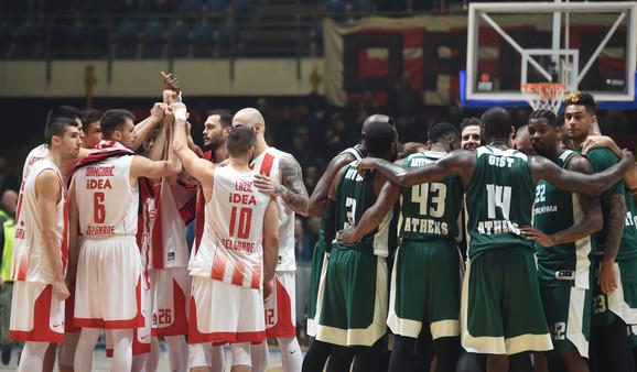 Rivalstvo između dva atinska kluba prevazišlo je biloskoro sve što smo dosad videli u istoriji evropske košarke