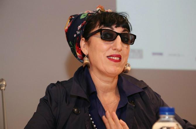 Rosa pre nekoliko meseci na Fransuckom institutu filma u Atini