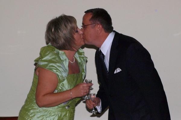 W dniu 25. rocznicu ślubu, rok 2009