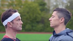 Robert Lewandowski i Tomasz Kot śpiewają w reklamie sieci komórkowej
