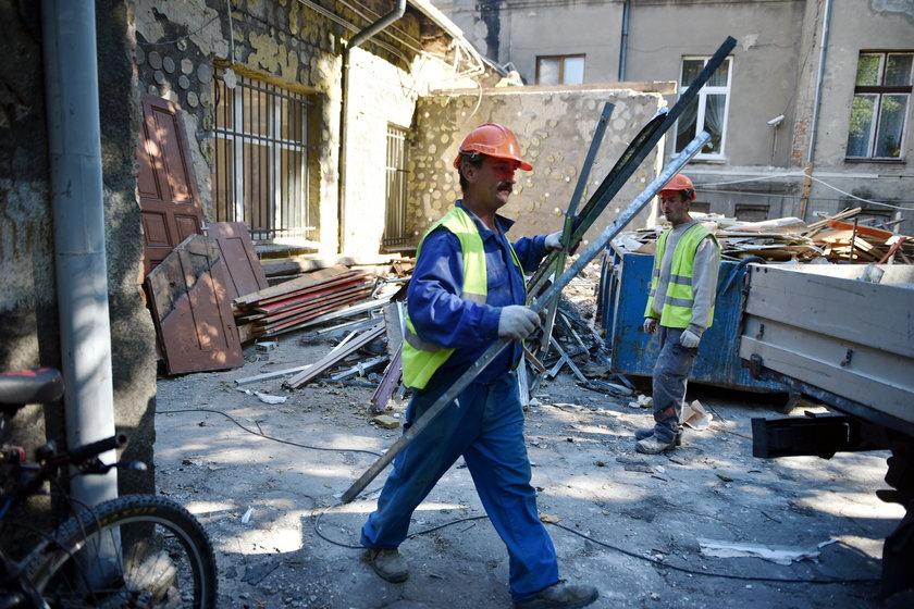 Robotnicy odkryli skarby w domu Otto Gehliga