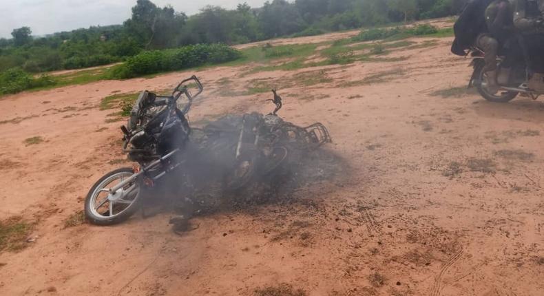 Police kill scores of bandits in Zamfara. [Twitter/@DefenceInfoNG]