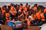 Migranti Libija Čamac AP