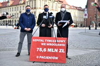 KO apeluje o otwarcie wszystkich szpitali tymczasowych w Polsce