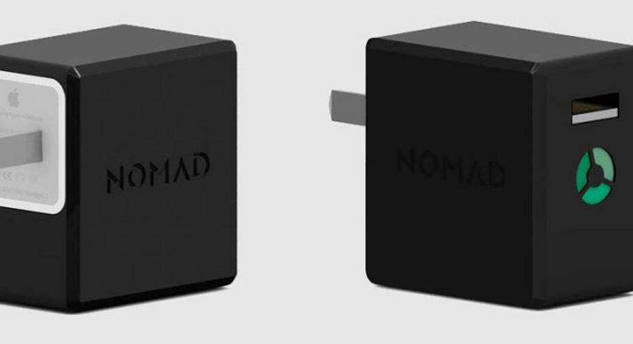 NomadPlus: Gadget macht iPhone-Netzteil zu Not-Akku