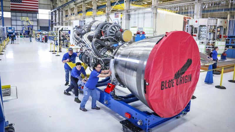 Blue Origin skończyło produkcję nowego silnika