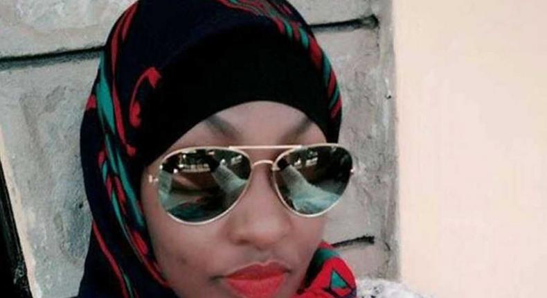 Violet Kemunto, believed to be wife to Salim Gichunge who was involved in the Dusit D2 terror attack arrested