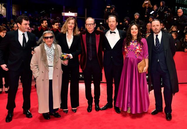 "Film ""Đango"" otvorio festival: Ekipa filma reditelja Etjena Komara pred projekciju"