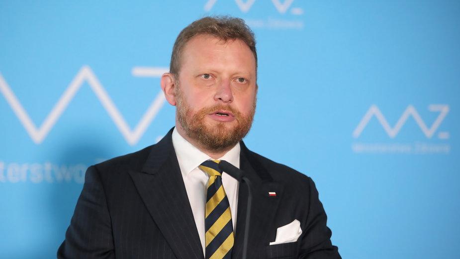 Były minister zdrowia Łukasz Szumowski zakażony koronawirusem
