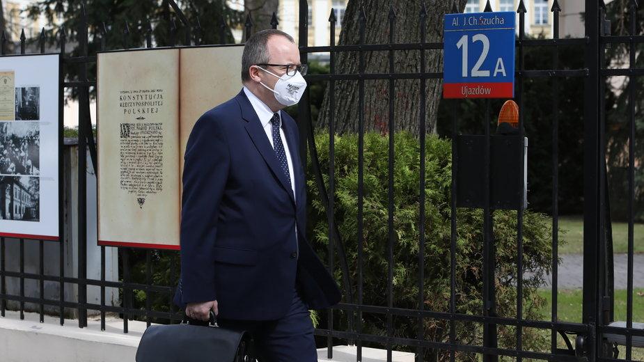 Adam Bodnar w drodze do Trybunału Konstytucyjnego