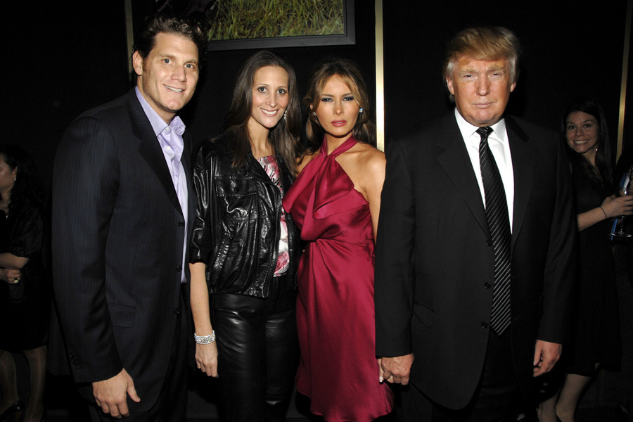 David Wolkoff, Stephanie Winston Wolkoff, Melania Trump i Donald Trump 2008 New York City/ BILLY FARRELL/Patrick McMullan Getty Images