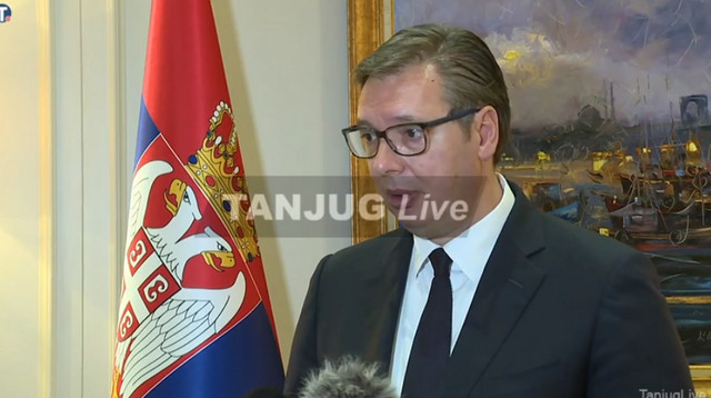 Aleksandar Vučić u Istanbulu