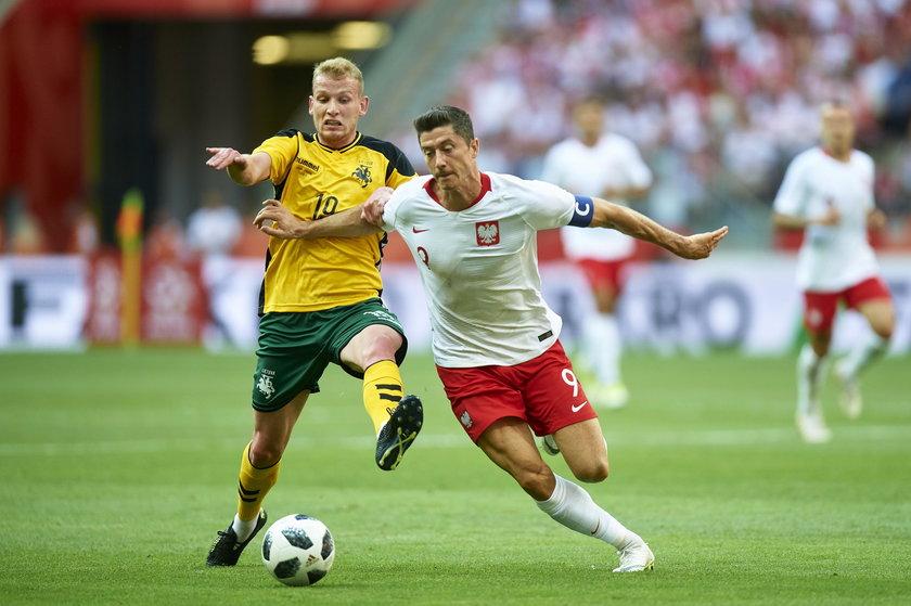 Pilka nozna. Reprezentacja. Mecz towarzyski. Polska - Litwa. 12.06.2018