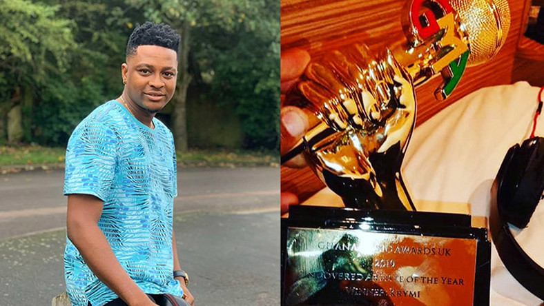 Ghana Music Awards UK 2019: Krymi wins uncovered artiste of the year at