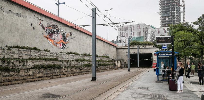 Kolejny mural na Rondzie Mogilskim! Ozdobi nasze miasto