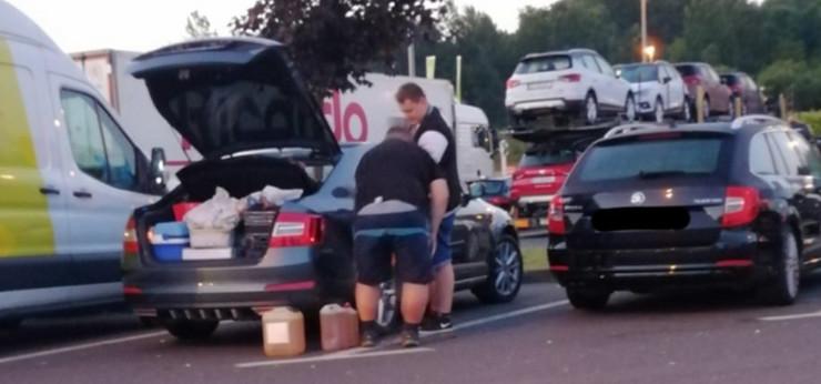 turisti gorivo