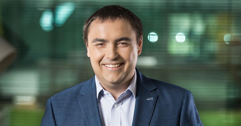 Dr Mark Loughran, który jest CEO Microsoftu w Polsce od kwietnia 2017 r.