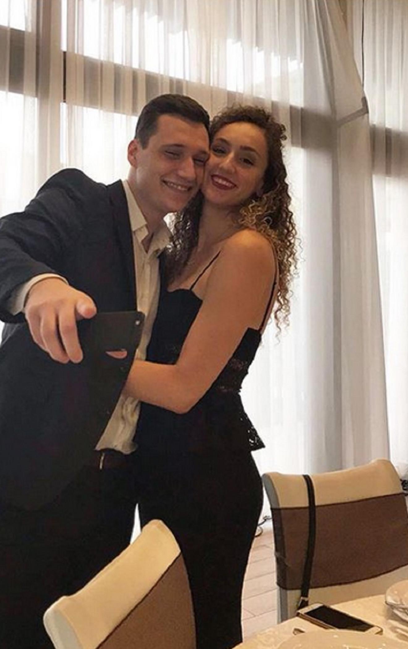 Aleksandra Crvendakić sa suprugom