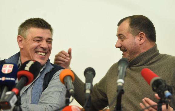 Savo Milošević i Dejan Stanković drže predavanje